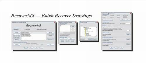 Batch Recover AutoCAD Drawings